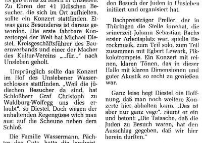 Concert article 2 '99
